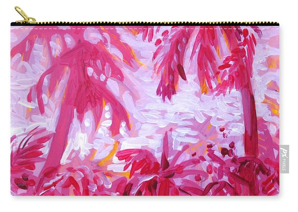 Fuschia Landscape Carry-all Pouch