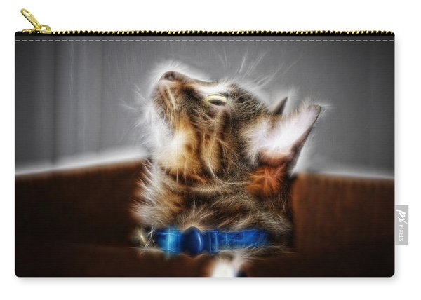 Fuzzy Friend Carry-all Pouch