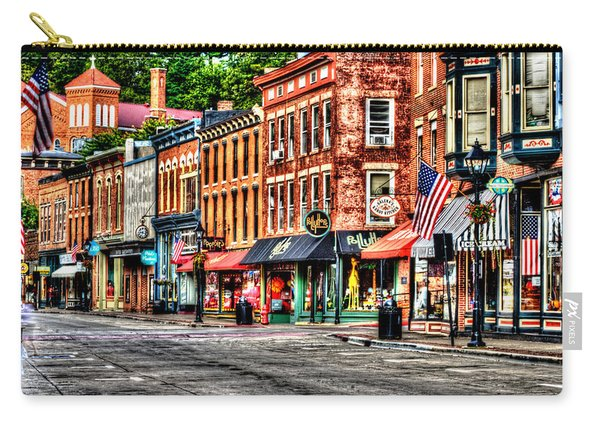 Galena Main Street Early Summer Morning Carry-all Pouch
