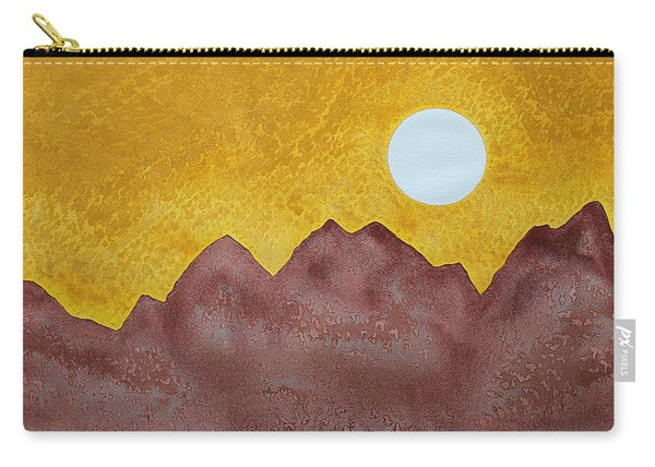 Gallup Original Painting Carry-all Pouch