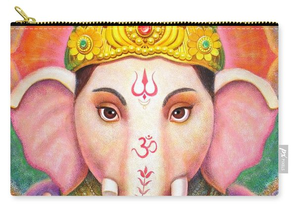 Ganesha's Blessing Carry-all Pouch