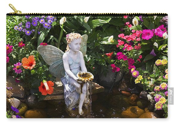 Garden Angel Carry-all Pouch