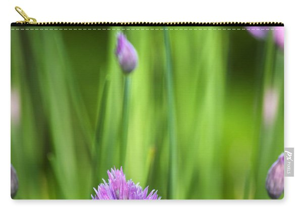 Garden Chives Carry-all Pouch