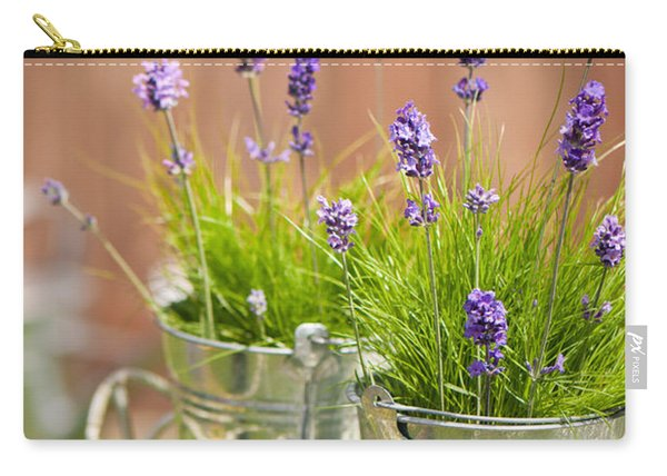 Garden Lavender Carry-all Pouch