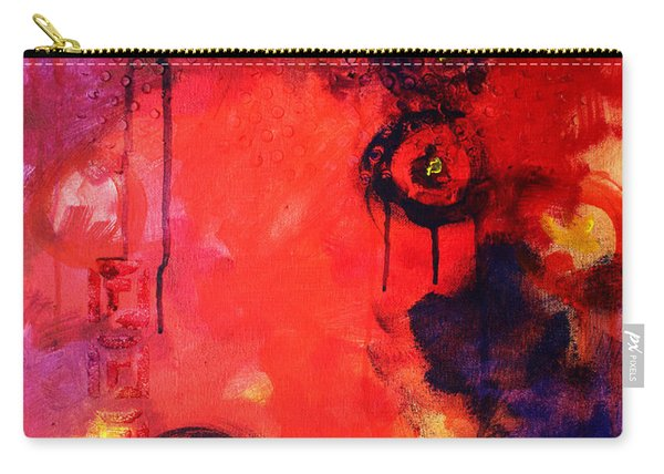 Garden Of Good And Evil Carry-all Pouch