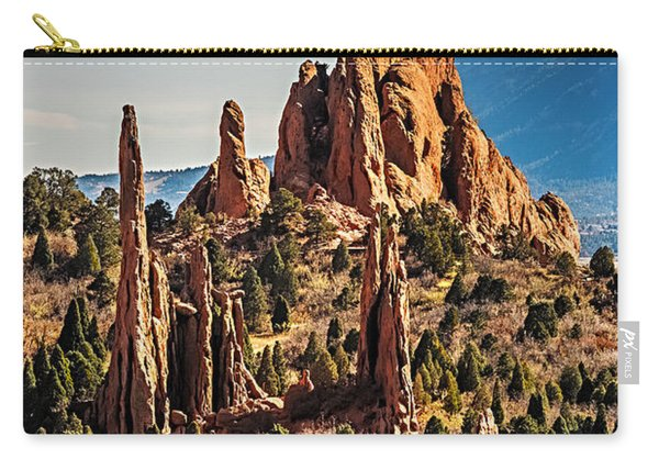 Garden Of The Gods Rock Formations Carry-all Pouch