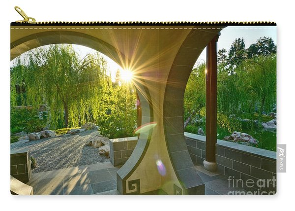 Garden Sun - Beautiful Chinese Garden At The Huntington Library. Carry-all Pouch