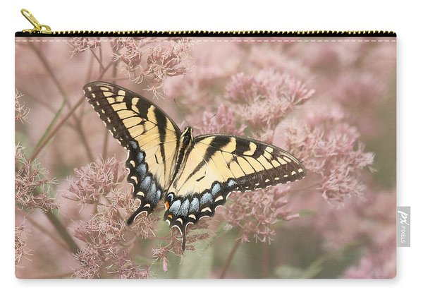 Garden Visitor - Tiger Swallowtail Carry-all Pouch