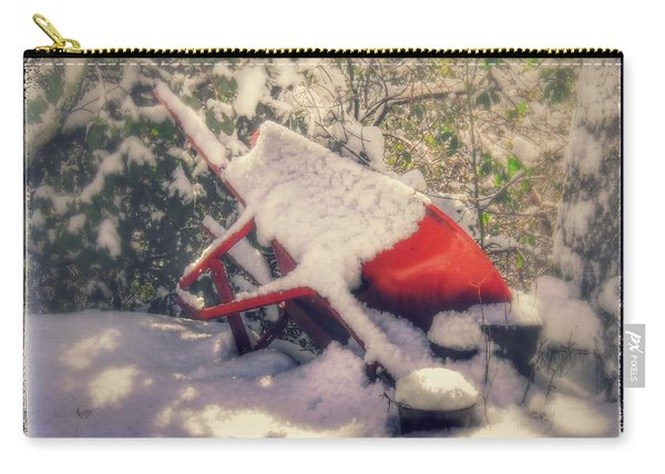 Gardener's Winter Dream Carry-all Pouch