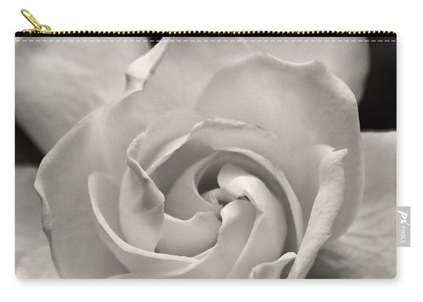 Gardenia Bloom In Sepia Carry-all Pouch
