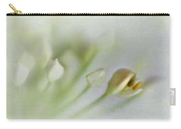 Garlic Chive Blossom Carry-all Pouch