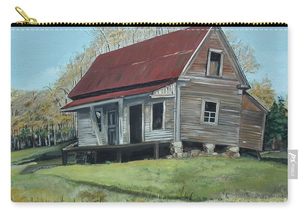 Gates Chapel - Ellijay Ga - Old Homestead Carry-all Pouch