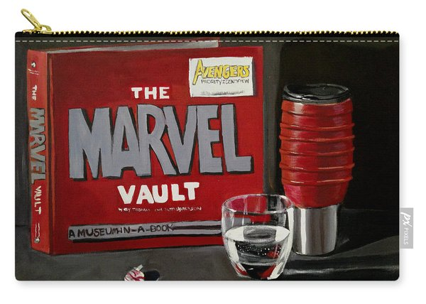Marvel Comic's Still Life Acrylic Painting Art Carry-all Pouch