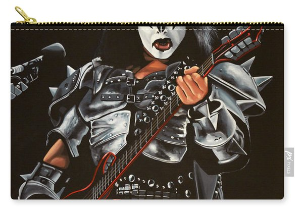 Gene Simmons Of Kiss Carry-all Pouch