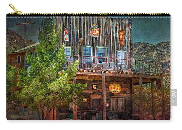 Carry-all Pouch featuring the photograph General Store by Gunter Nezhoda