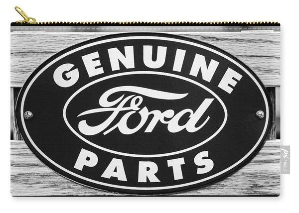 Genuine Ford Parts Sign Carry-all Pouch