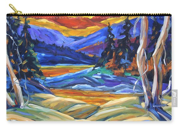 Geo Landscape II By Prankearts Carry-all Pouch