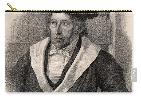 Georg Wilhelm Friedrich Hegel Carry-all Pouch