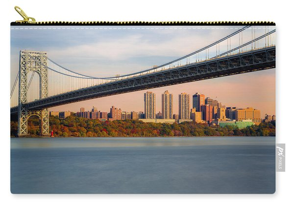George Washington Bridge In Autumn Carry-all Pouch