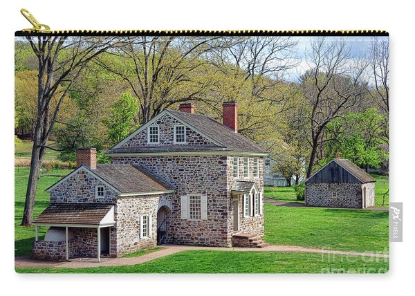 George Washington Headquarters At Valley Forge Carry-all Pouch