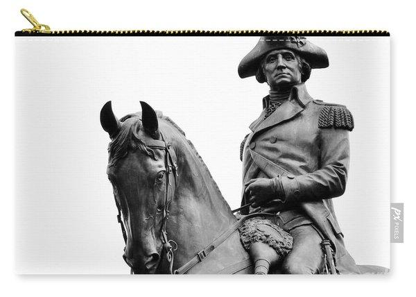 George Washington Statue Boston Ma Carry-all Pouch