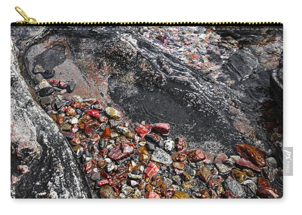 Georgian Bay Rocks Abstract I Carry-all Pouch