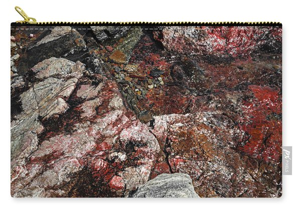 Georgian Bay Rocks Abstract II Carry-all Pouch
