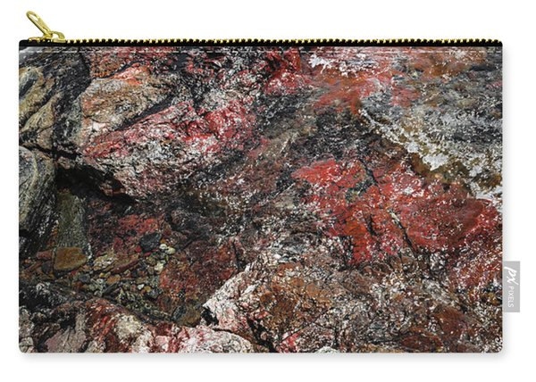 Georgian Bay Rocks Abstract IIi Carry-all Pouch