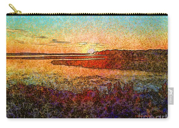 Georgian Bay Sunset Carry-all Pouch