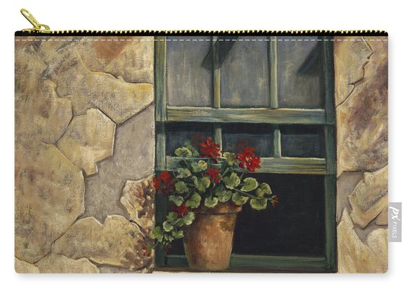 Geraniums And Shadows Carry-all Pouch