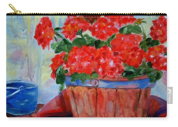 Geraniums Carry-all Pouch