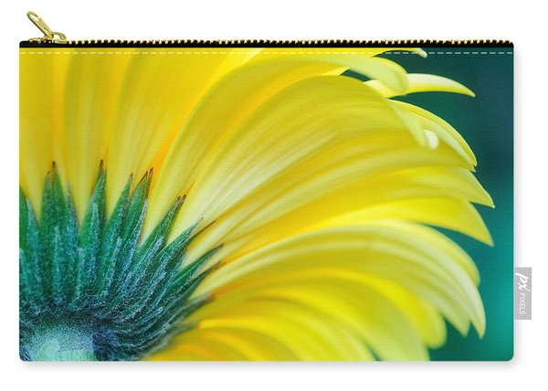 Carry-all Pouch featuring the photograph Gerber Daisy by Garvin Hunter