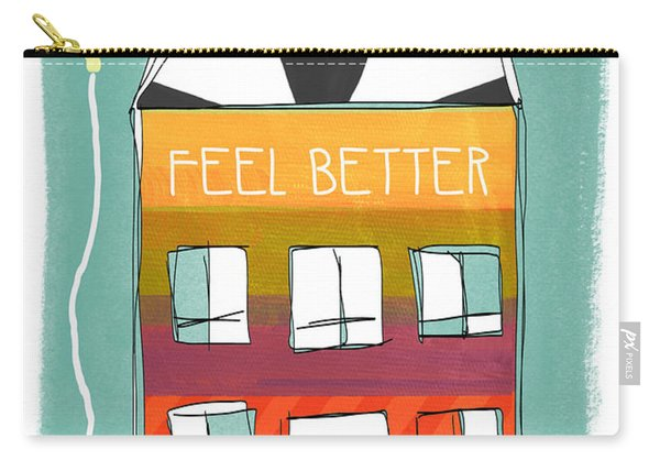 Get Well Card Carry-all Pouch