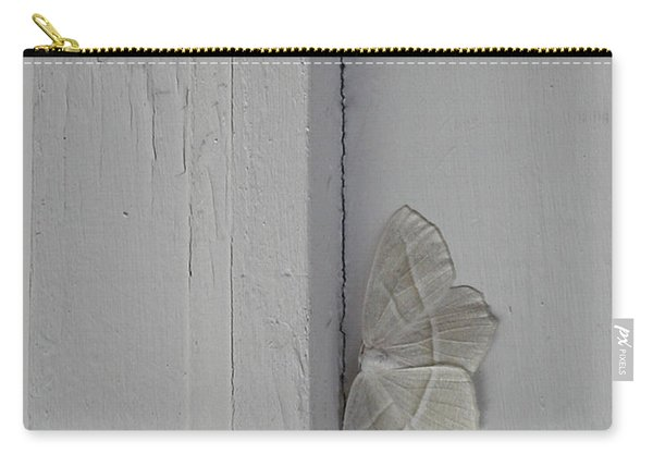 Ghost Doorbell Moth Carry-all Pouch