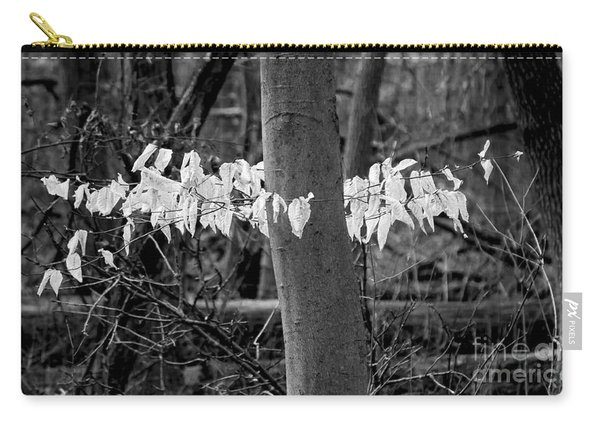 Ghost Leaves Carry-all Pouch