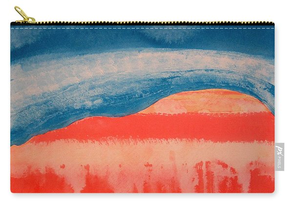 Ghost Ranch Original Painting Carry-all Pouch