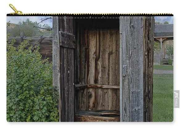 Ghost Town Outhouse - Montana Carry-all Pouch