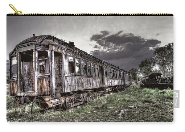 Ghost Town Train - Montana Carry-all Pouch