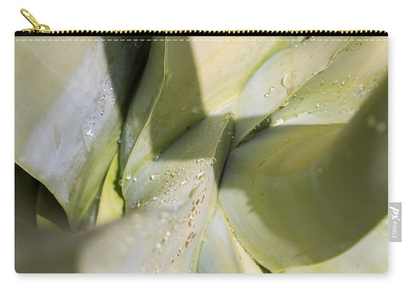 Giant Agave Abstract 3 Carry-all Pouch