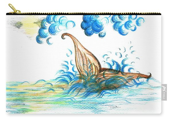 Giant Mermaid Carry-all Pouch