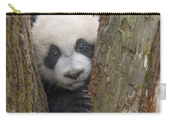 Giant Panda Cub Bifengxia Panda Base Carry-all Pouch