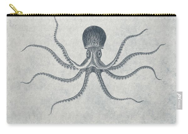 Giant Squid - Nautical Design Carry-all Pouch