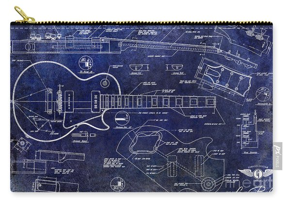 Gibson Les Paul Blueprint Carry-all Pouch