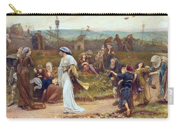 Gilbert A Beckets Troth The Saracen Maiden Entering London At Sundow  Carry-all Pouch