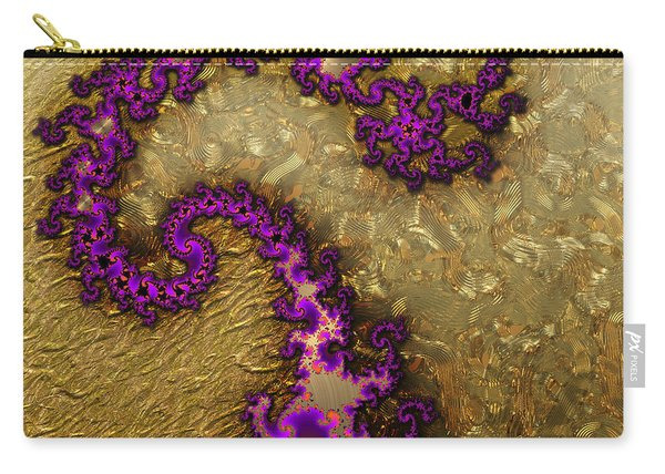 Gilded Fractal 1 Carry-all Pouch