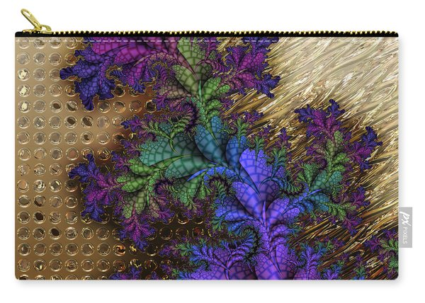 Gilded Fractal 12  Carry-all Pouch