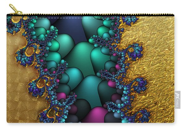 Gilded Fractal 4  Carry-all Pouch