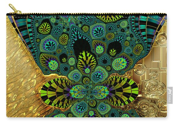 Gilded Fractal 5  Carry-all Pouch