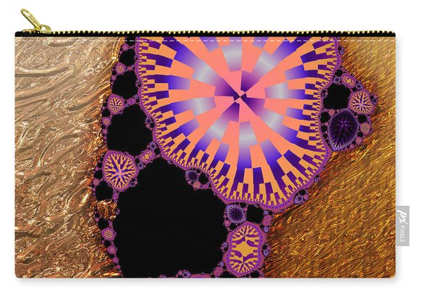 Gilded Fractal 6  Carry-all Pouch