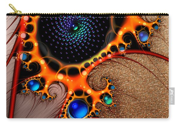 Gilded Fractal 7  Carry-all Pouch